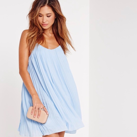 a776676f160574 Missguided strappy pleated mini dress.